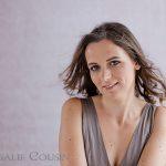 Photographe portrait de femme glamour Paris : Adeline