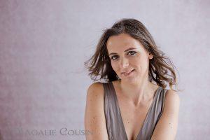 Photographe portrait de femme glamour
